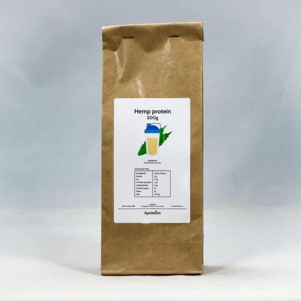 Hampproteinpulver (500 g)