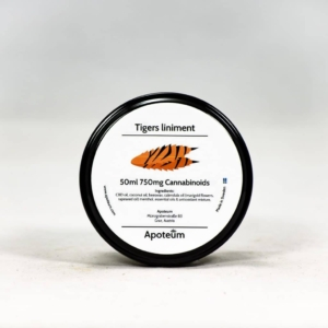 Tiger Balm med 750 mg CBD (50 ml)
